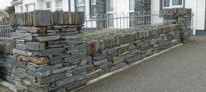 Donegal Slate Wall