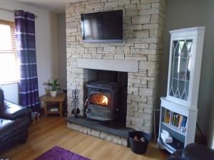 Donegal Quartz Fireplace