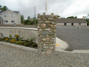 Reclaimed Stone Pillar