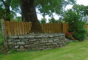 Reclaimed Stone Garden Featureeat