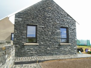 Donegal Slate - Gable Wall