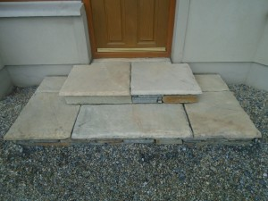 Simple Sandstone Steps