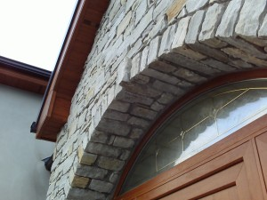 Donegal Quartz - Arch with Extended Keystone
