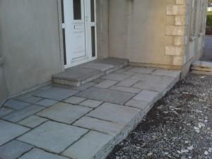 Donegal Grey Quartz Steps